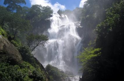 Udzungwa Sanje Falls